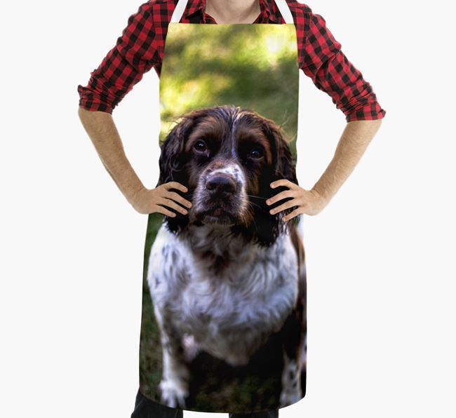 Personalised Apron with Photo of your Springer Spaniel