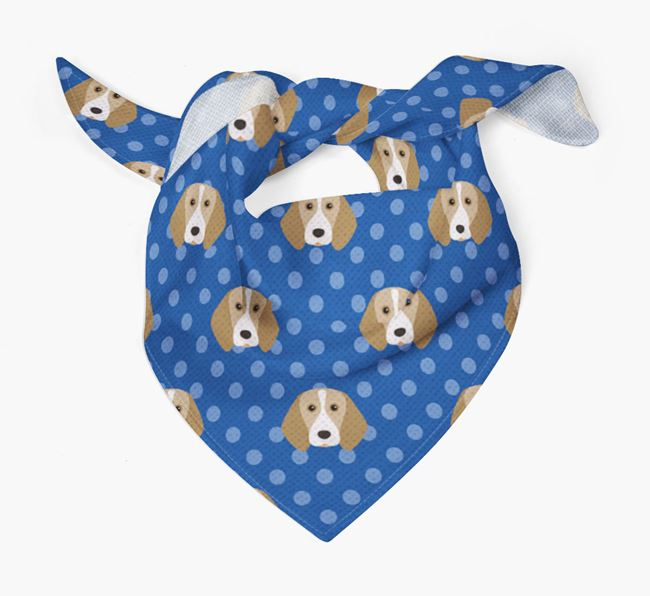 Beagle Icon Pattern Bandana