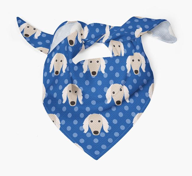 Borzoi Icon Pattern Bandana