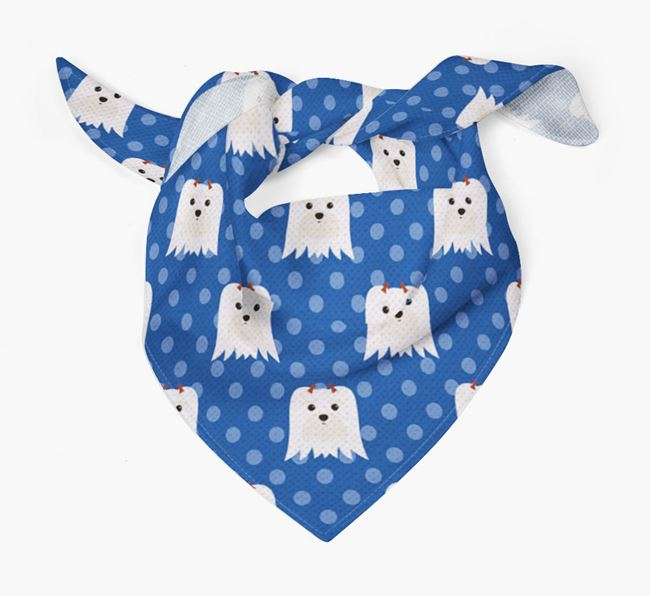 Maltese Icon Pattern Bandana