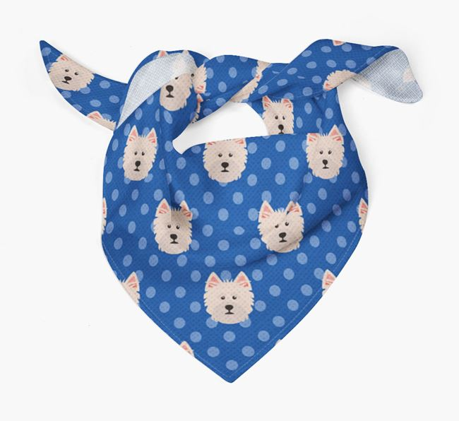 Norfolk Terrier Icon Pattern Bandana