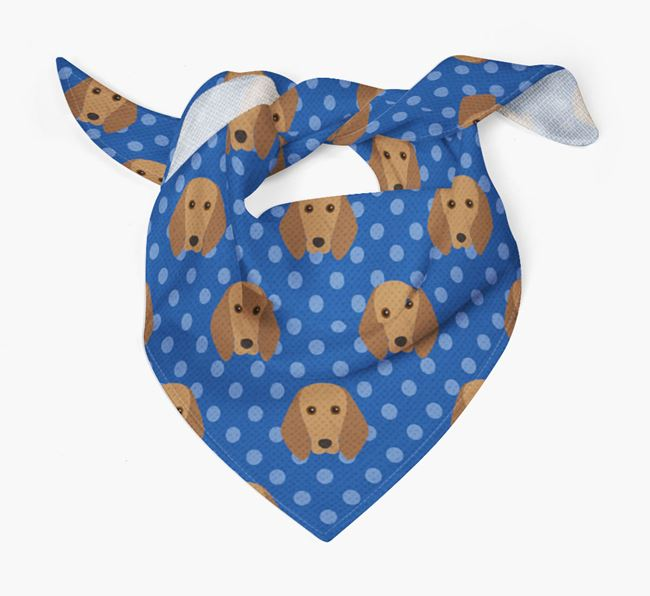 Segugio Italiano Icon Pattern Bandana