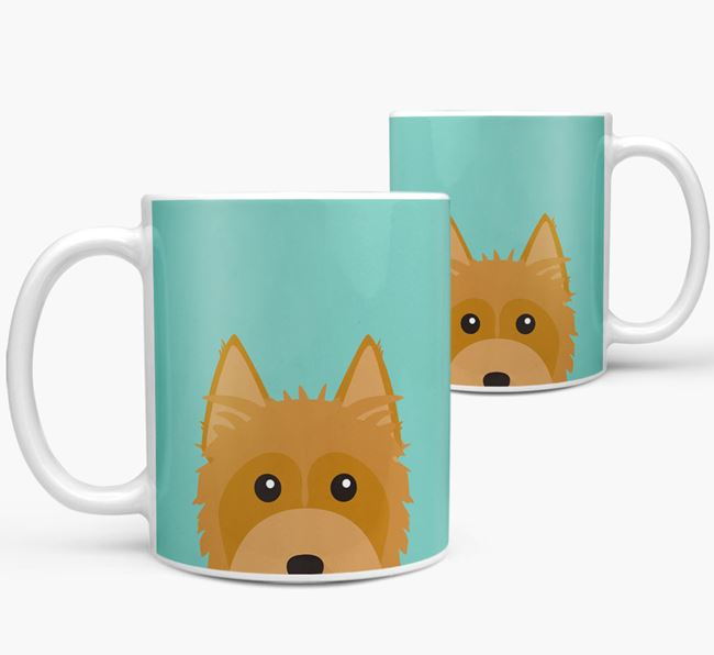 Silky Terrier Icon Mug