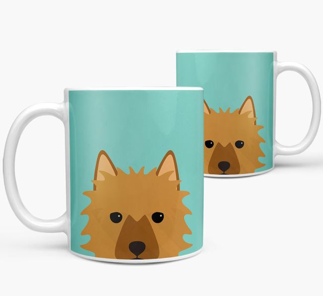 Aussie Terrier Icon Mug