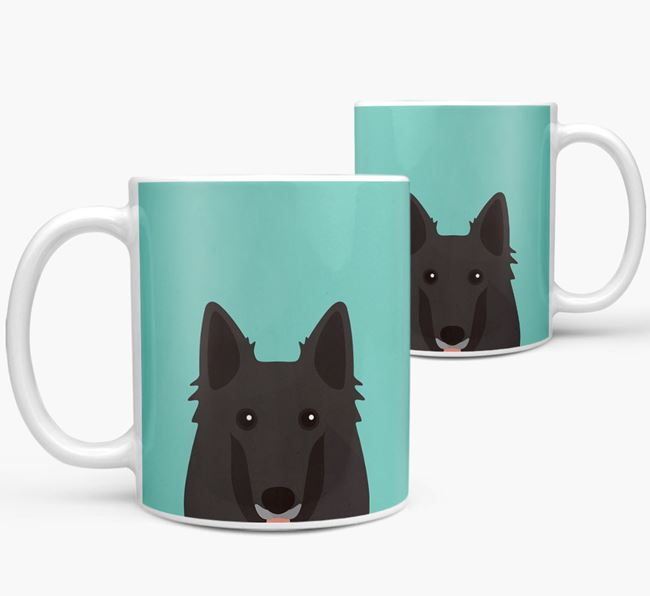 Belgian Shepherd Icon Mug
