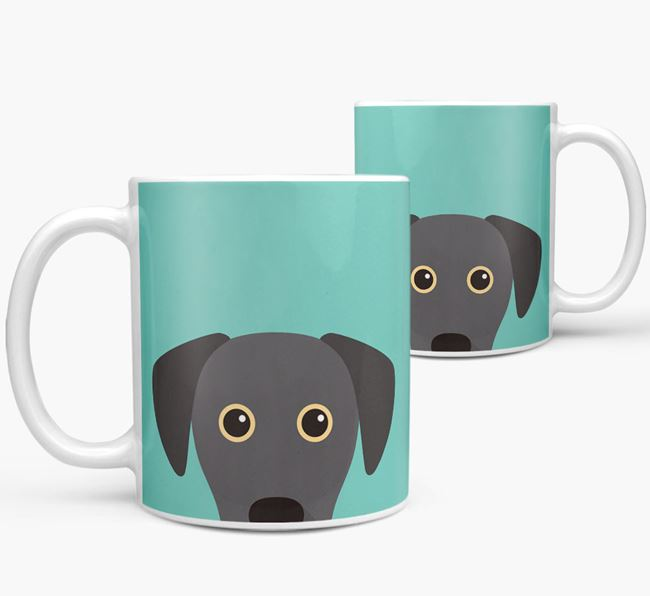 Blue Lacy Icon Mug