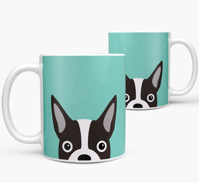 Boston Terrier Icon Mug