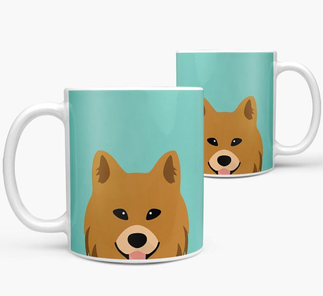 Chow Shepherd Icon Mug
