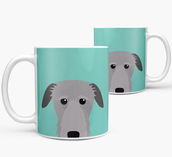 Deerhound Icon Mug