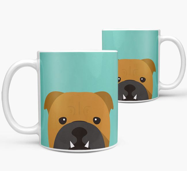 Bulldog Icon Mug