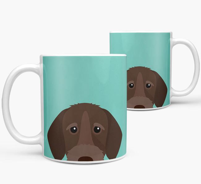 Wirehaired Pointer Icon Mug