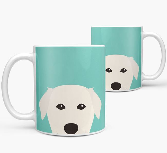 Golden Lab Icon Mug