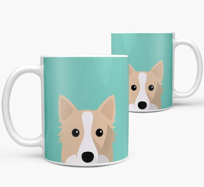 Icelandic Sheepdog Icon Mug
