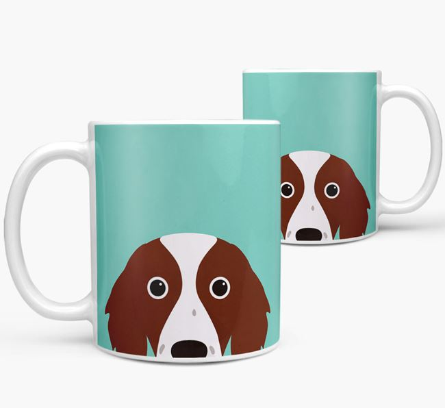 Red & White Setter Icon Mug
