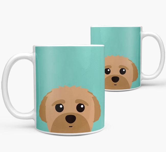 Peek-a-poo Icon Mug