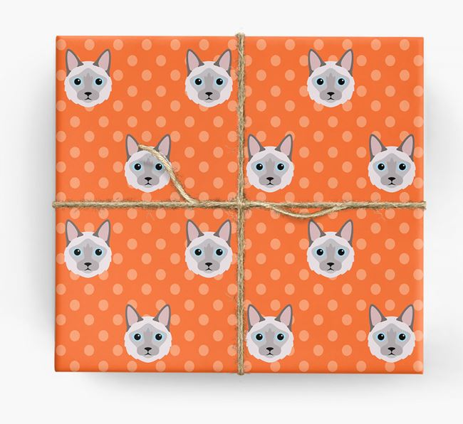'Balinese Icons & Spots' - Personalized Wrapping Paper