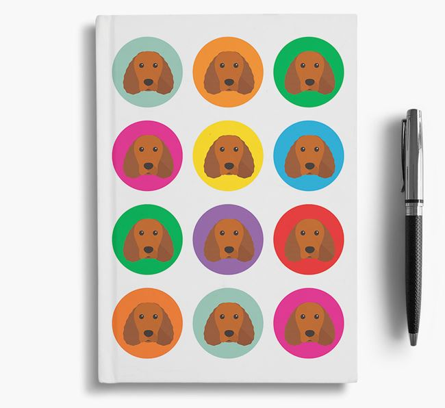 Water Spaniel Icons Notebook