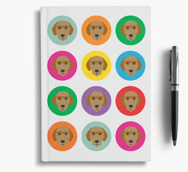 Basset Fauve Icons Notebook