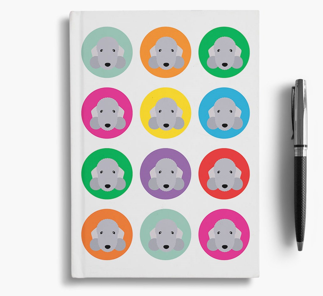 {colour} Notebook for Bedlington Terriers