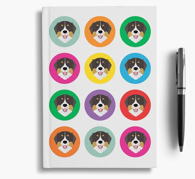Bernese Icons Notebook