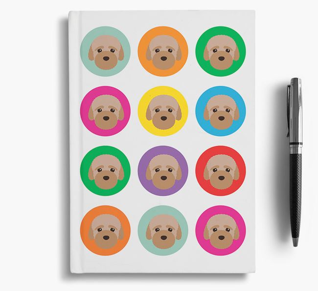 Bich-poo Icons Notebook