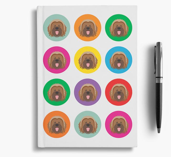 Briard Icons Notebook