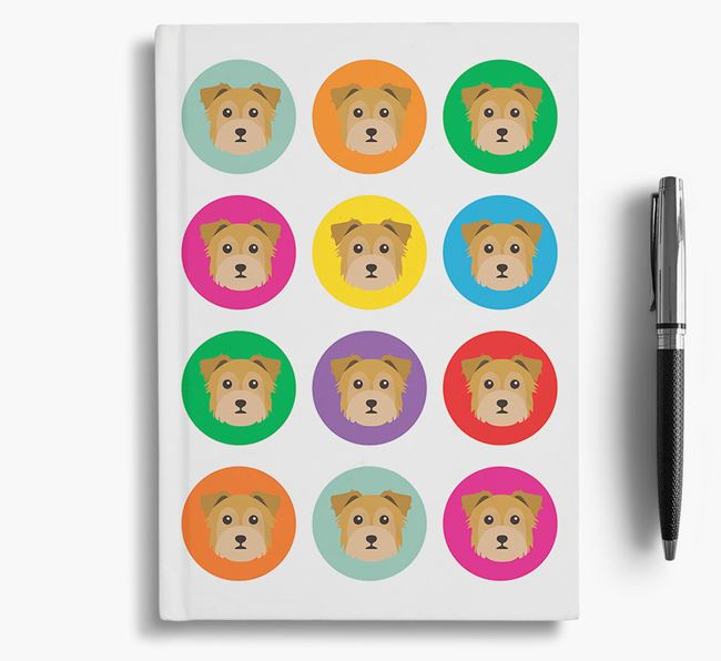 Chorkie Icons Notebook