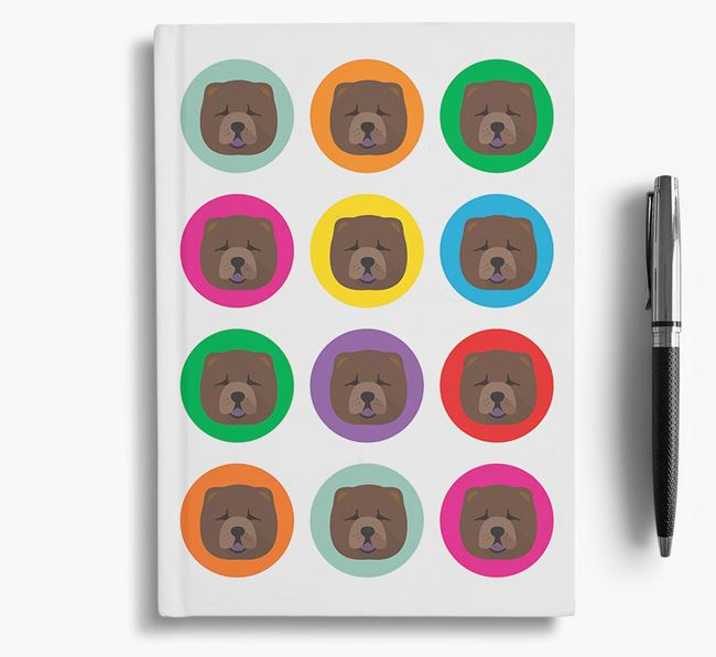Chow Chow Icons Notebook