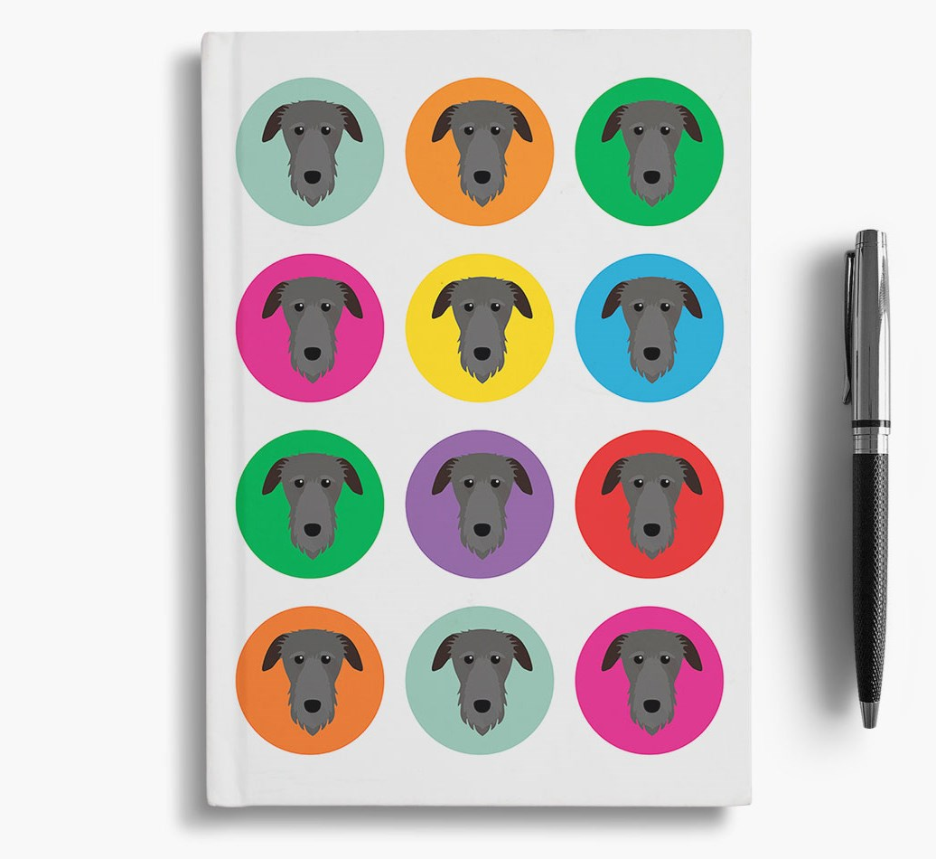 {colour} Notebook for Deerhounds