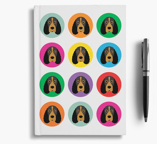 Field Spaniel Icons Notebook