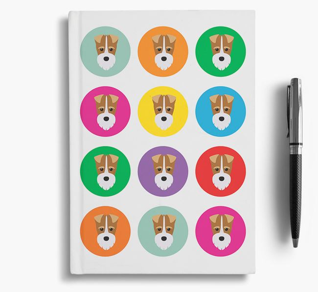Fox Terrier Icons Notebook