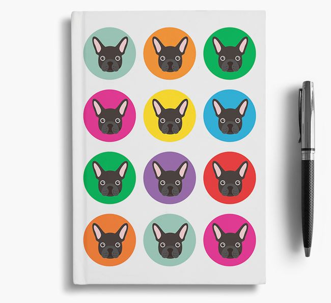 Frenchie Icons Notebook