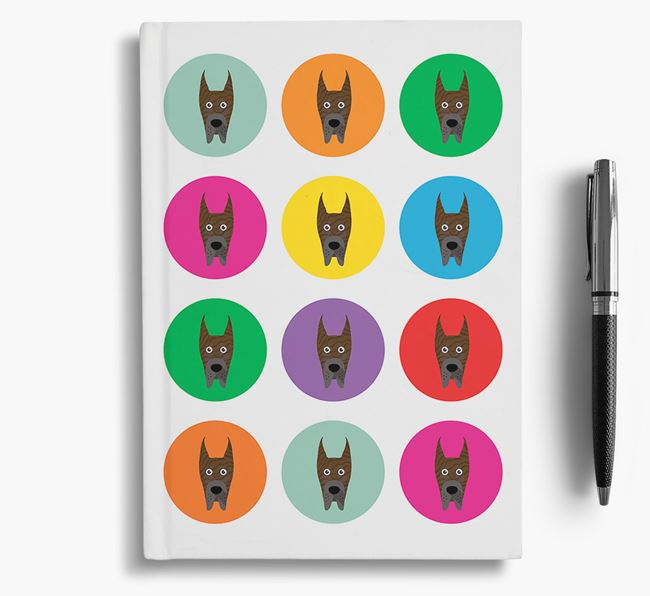 Great Dane Icons Notebook