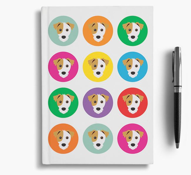 Jack Russell Icons Notebook
