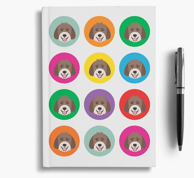Labradoodle Icons Notebook
