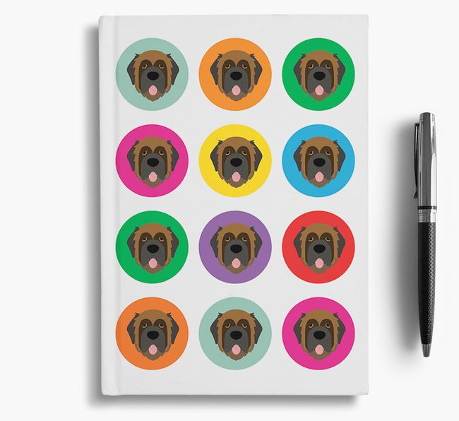 Leonberger Icons Notebook