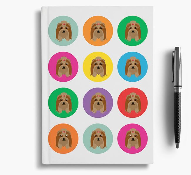 Lhasa Apso Icons Notebook