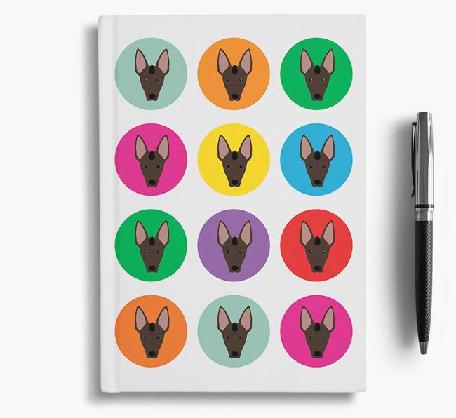 Mexican Hairless Icons Notebook