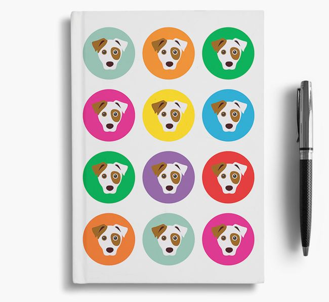 Parson Russell Icons Notebook