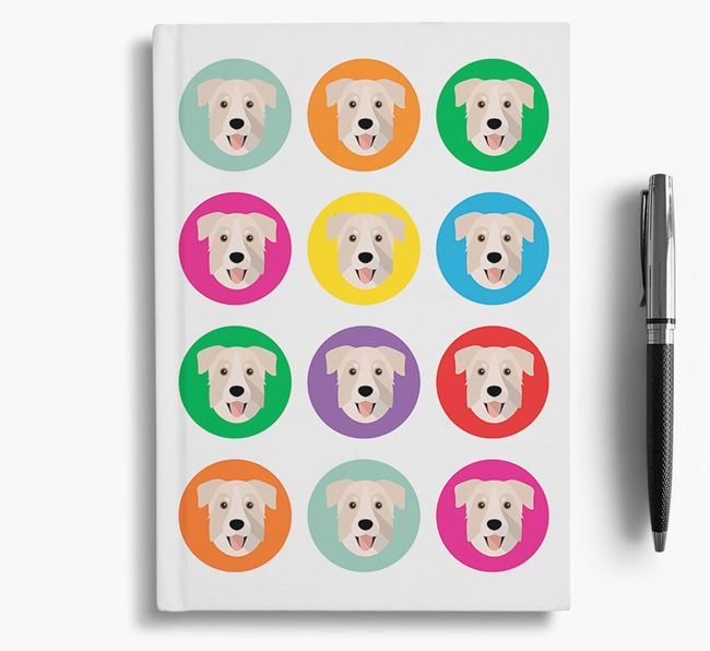 Rescue Dog Icons Notebook