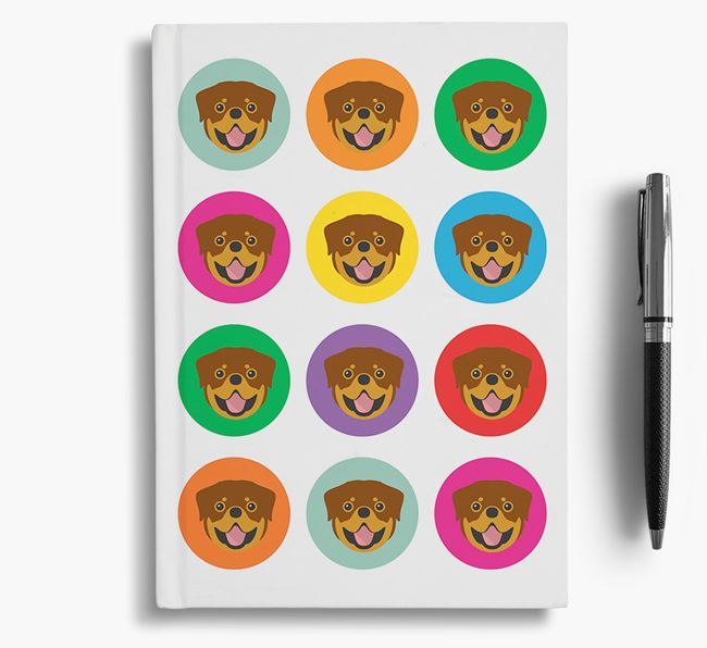 Rottweiler Icons Notebook