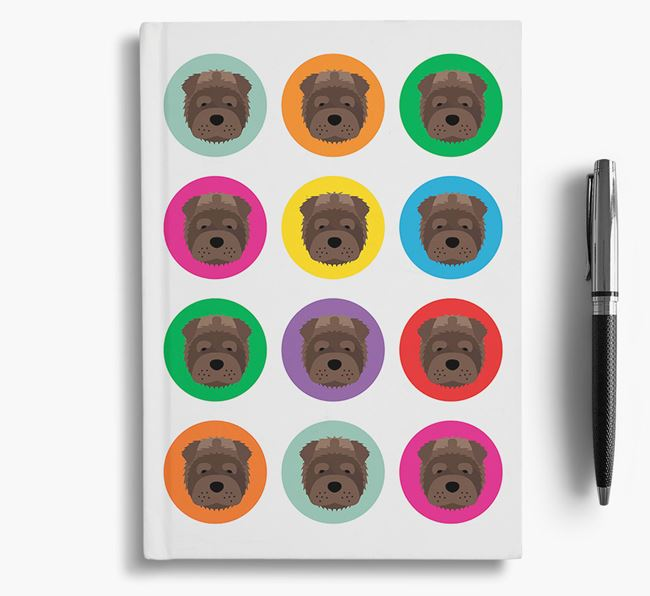Shar Pei Icons Notebook