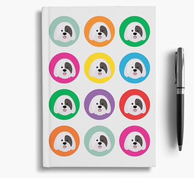 Sheepadoodle Icons Notebook