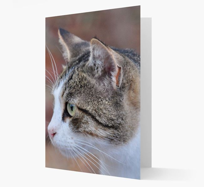 Photo Upload Card - Personalized for your Cat