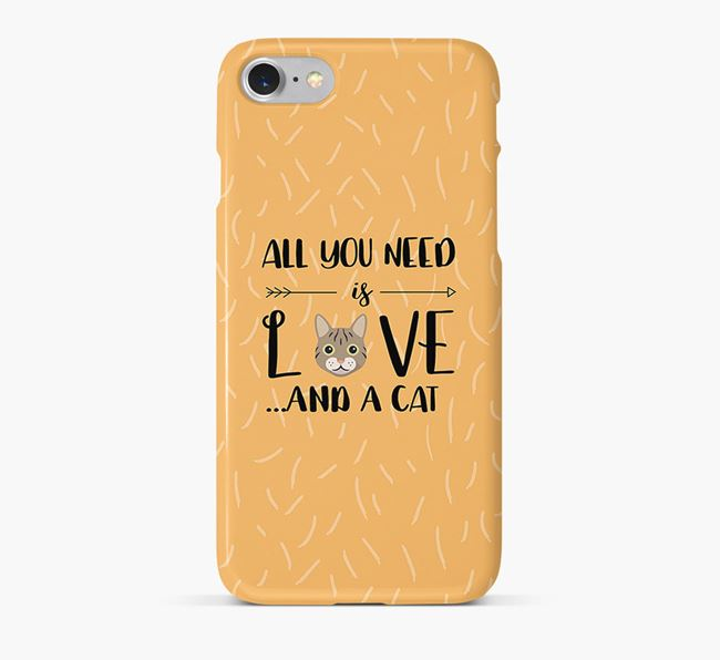 'All You Need is Love' - Personalized Cat Phone Case
