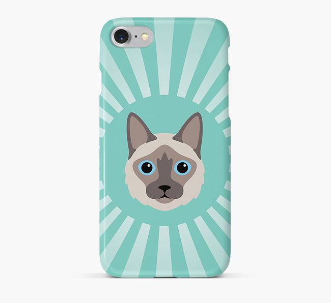 'Rays' - Personalized Balinese Phone Case