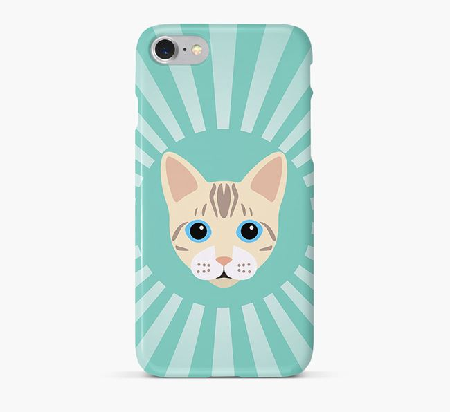 'Rays' - Personalized Bengal Phone Case