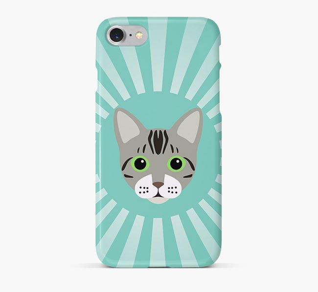 'Rays' - Personalised Bengal Phone Case