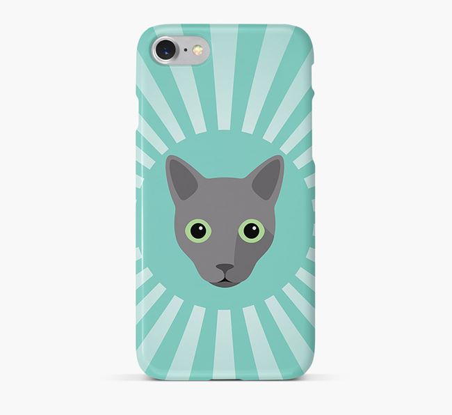 'Rays' - Personalised Cat Phone Case