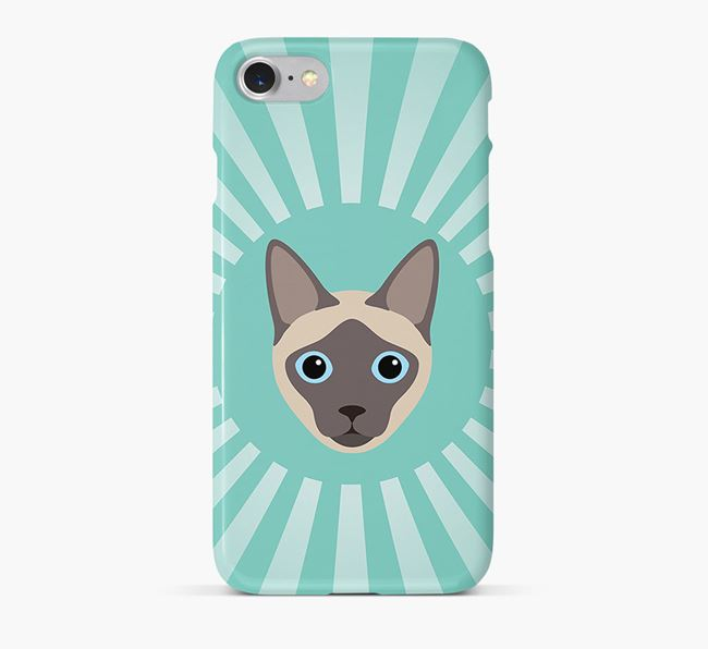 'Rays' - Personalized Siamese Phone Case